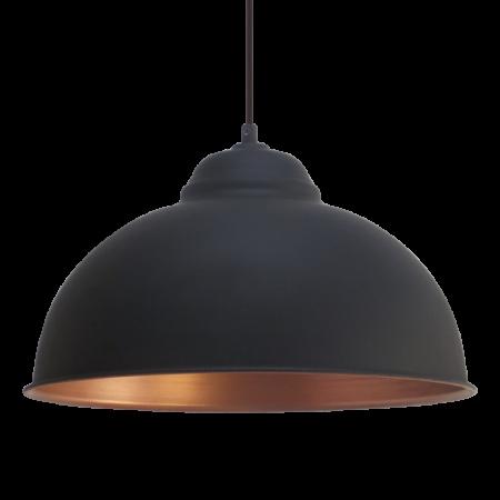 Pendul vintage negru diametru 360 mm