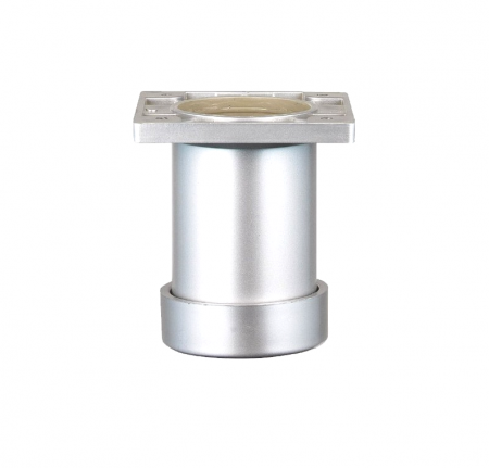 Picior cilindric reglabil, H80, pentru mobilier