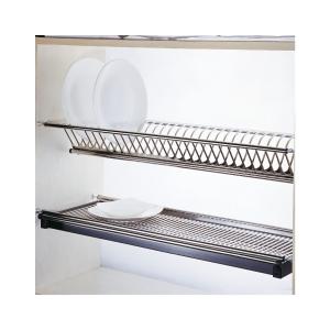 Scurgator din otel inoxidabil pentru vase montabil in dulap de bucatarie cu dimensiune de 1000 mm