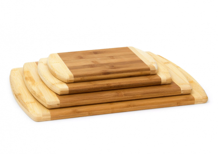 Set 4 tocatoare din bambus