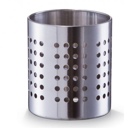 Suport metalic pentru tacamuri si ustensile de bucatarie finisaj inox