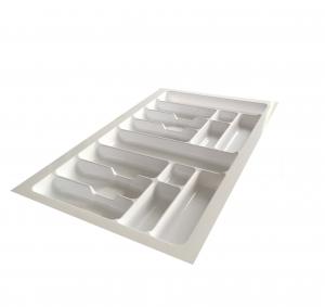 Suport organizare tacamuri, alb, pentru corp de 900 mm latime