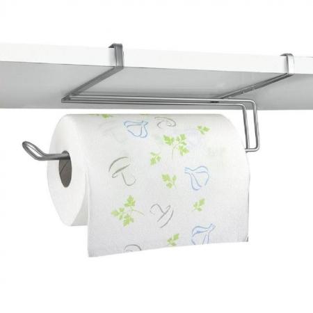 Suport rola de bucatarie pentru usa de dulap sau etajera