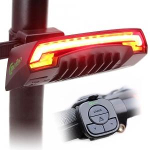 lumini bicicleta semnalizator bicicleta wireless meilan x5