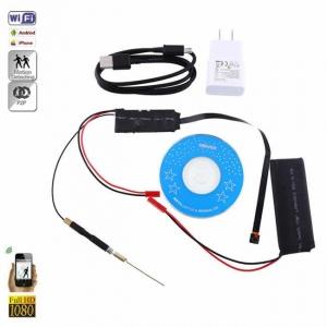Modul Compact Microcamera Spion HD Wireless Integrabila IP , P2P, Wi-Fi ,1080p,32 Gb