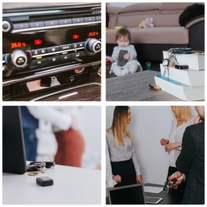 Reportofon pentru Spionaj Audio cu Parola si Activare Vocala Setabila, Model Profesional, Memorie Interna 16Gb - 1144 de ore - 1536 kbps , aTTo 16GB