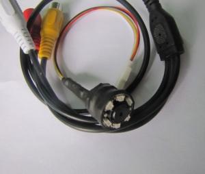 Microcamera CCTV spion de supraveghere Night vision , 940Nm , audio, 520 TVL