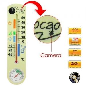 Mini Camera Video Spion In Termometru  TCV55