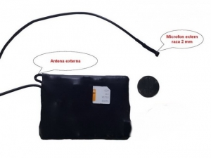 Mini modul localizator GPS Tracker spy cu microfon x-tend  - 12 zile