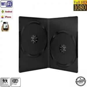 Camera Video Spy  wi-fi p2p In carcasa dvd cu senzor de miscare , 32 Gb , autonomie 18 ore