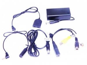 Camera spionaj  CCD Jack 2,5 SpyLab PROMCD10TS incorporata in mufa cablu
