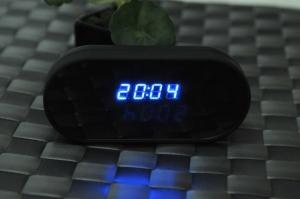 Ceas de birou cu mini modul camera spy, WI-FI IP integrata, 32 Gb, HD, senzor miscare, CCSWIIP113