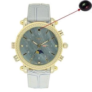 Camera spion HD ascunsa in ceas de dama elegant - Model CMTWC13