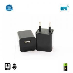 Microfon spy HIBRID cu reportofon 2400 de ore + microfon gsm cu detectie voce + agps