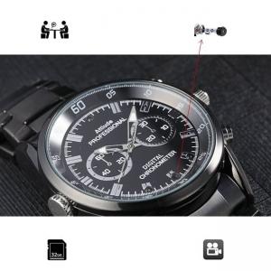 Camera video spy 1920x1080p in ceas de mana cu filmare pe timp de noapte - CMCMET18