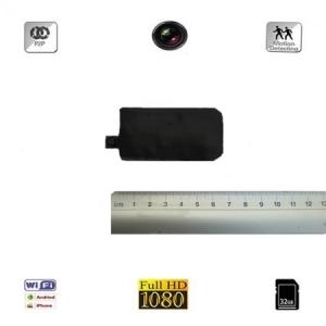 Modul Compact Microcamera Video Spion Integrabila | Doar 8mm | 12 ore Autonomie | 32GB | Senzor de Miscare | Telecomanda