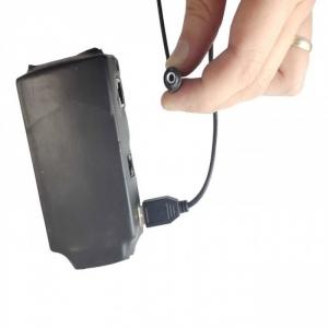 Microcamera spy IP ascunsa in mufa cablu - dispozitiv profesional