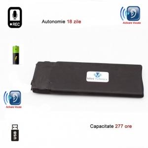 Modul reportofon spion profesional HD 277 de ore – autonomie 18 zile BLACKBOX277