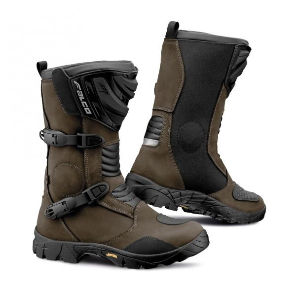 Cizme adventure Falco Mixto 2 ADV, WP, Vibram, D3O<sup>&reg;</sup>, Brown
