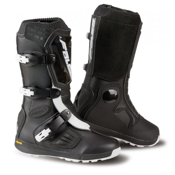 Cizme mx/enduro copii Falco Lion Kid 2.1, Vibram, D3O<sup>&reg;</sup>, Black
