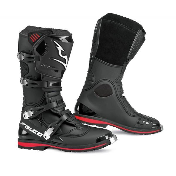 Cizme mx/enduro Falco Dust Evo, WP, Vibram, D3O<sup>&reg;</sup>, Black