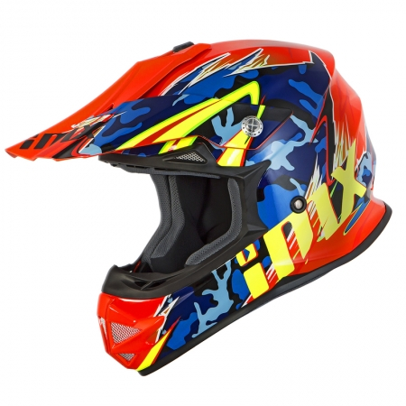Casca IMX FMX-01 Camo, Fluo/Orange