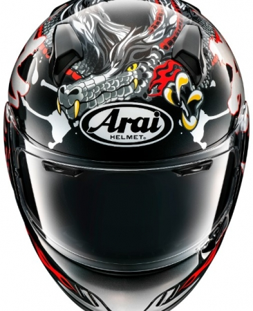 Casca Arai Renegade-V Dragon1