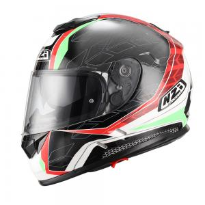 Casca integrala NZI Symbio Duo, Dart Red/Green