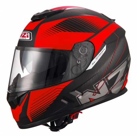 Casca integrala NZI Symbio 2 Duo, Indy Black/Red