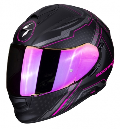 Casca integrala Scorpion Exo-510 Air Sync, Matt Black/Pink