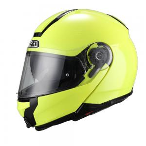 Casca flip-up NZI Combi Duo, Fluo Yellow