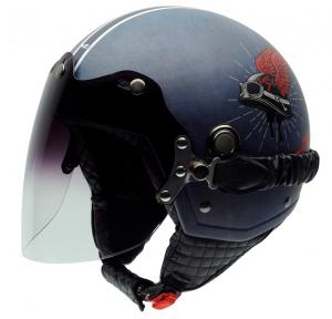 Casca open face NZI Tonup Visor, Live to ride