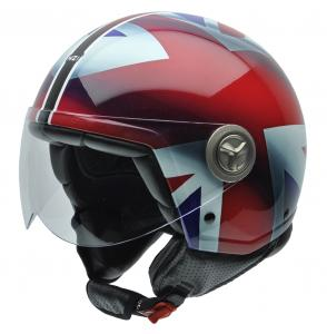 Casca open face NZI Zeta, Union Jack