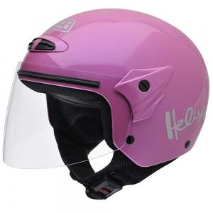 Casca open face NZI Helix II Junior, Pink