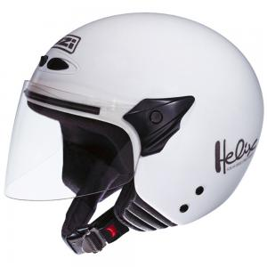 Casca open face NZI Helix II Junior, White
