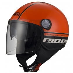 Casca open face NZI Capital 2 Duo, Ridon Orange Black