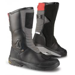 Cizme touring Falco Tourance, OutDry<sup>&reg;</sup>, Vibram, D3O<sup>&reg;</sup>, Black/Grey/Red