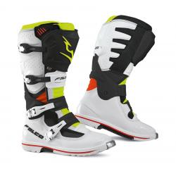 Cizme mx/enduro Falco Extreme Pro 3.1, WP, D3O<sup>&reg;</sup>, White/Black/Red/Fluo