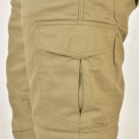 Pantaloni canvas Trilobite Dual, 2 in 14