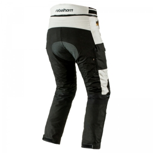 Pantaloni touring Rebelhorn Hardy Pro, 4 in 1, Black/Grey