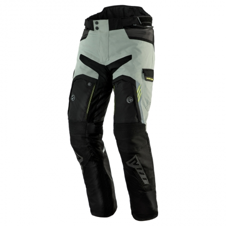Pantaloni touring Rebelhorn Patrol, 4 in 1, Grey/Black