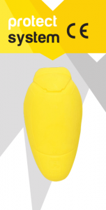 Protectii de coate/genunchi Pro-Tec, Level 2, Yellow