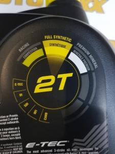 Ulei Full Syntetic E-TEC 2T2