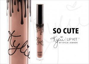Set Kylie Lip Kit Ruj Lichid Mat + Creion Buze So Cute