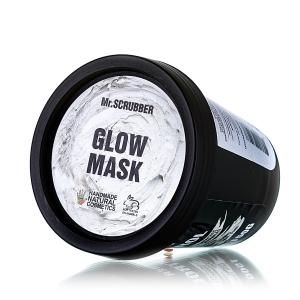 Mască tonifiantă preparată din argilă albă cu aloe vera și pudră de perle - Glow Mask, 150g
