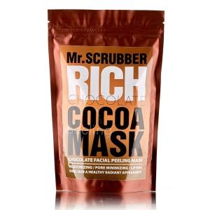 Mască peeling facial cu cacao - Rich Chocolate Cocoa Peeling Mask, 100g