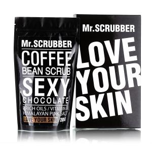 Scrub de corp cu cafea și ciocolată - Sexy Chocolate, 200g