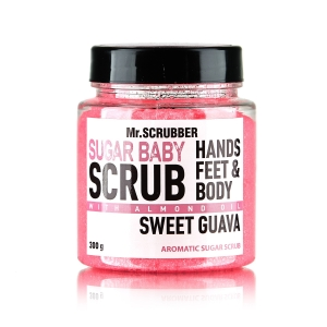 Scrub de corp cu zahăr și aromă de guava Sweet Guava Sugar Scrub, 300g