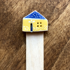 Semn de carte Little Houses model 2