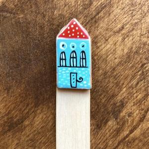 Semn de carte Little Houses model 81